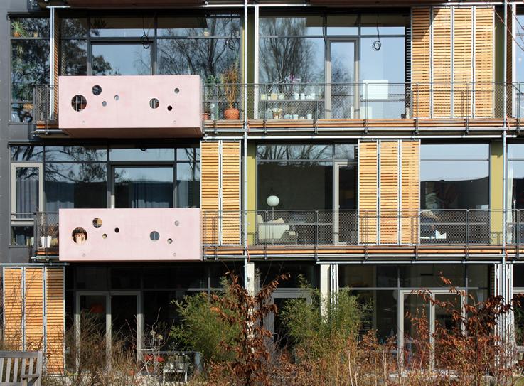 Südansicht Ausschnitt, Blaufisch Architekten Götte und Renatus