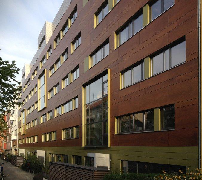 Nordfassade, Blaufisch Architekten Götte und Renatus