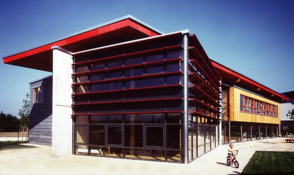 Südwestansicht, Blaufisch Architekten Kever und Renatus