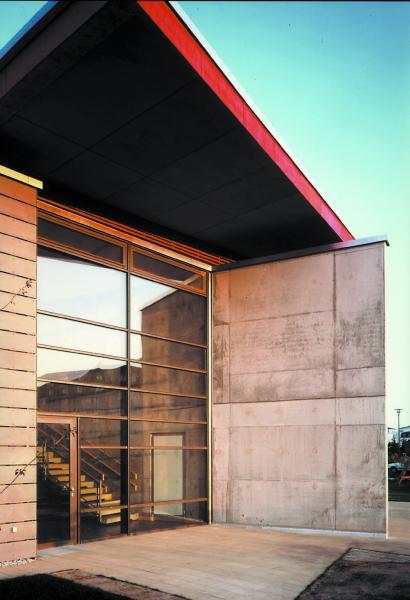 Eingang West, Blaufisch Architekten Kever und Renatus
