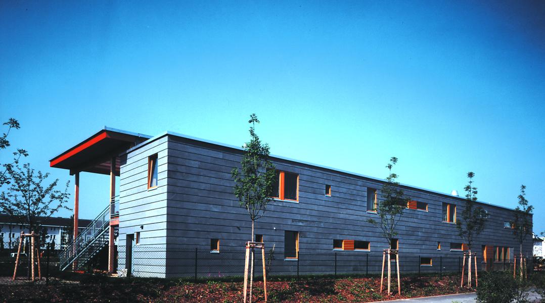 Nordansicht, Blaufisch Architekten Kever und Renatus