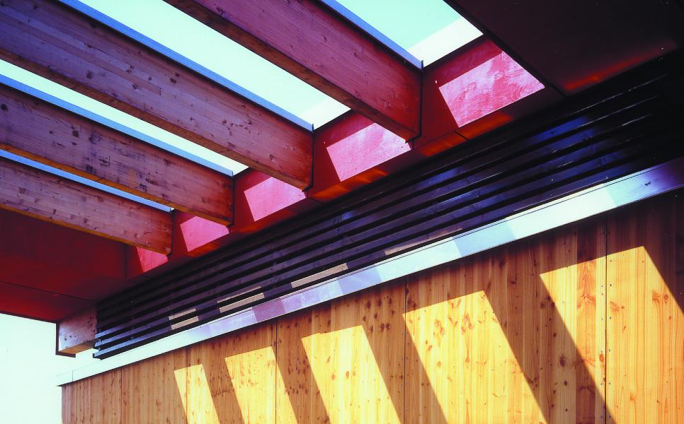 Detail Ostansicht, Blaufisch Architekten Kever und Renatus