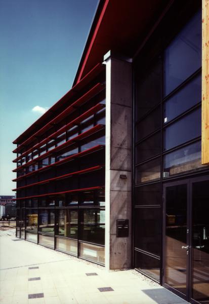 Eingang Süd, Blaufisch Architekten Kever und Renatus