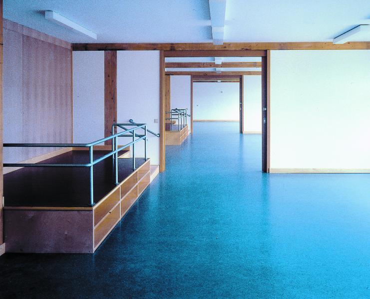 Gruppenräume, Blaufisch Architekten Kever und Renatus