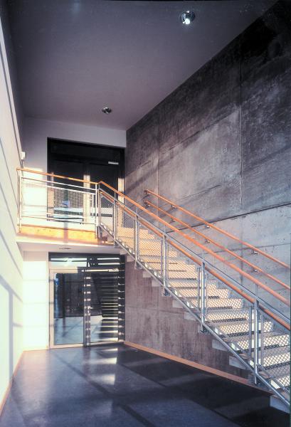 Treppenhaus, Blaufisch Architekten Kever und Renatus