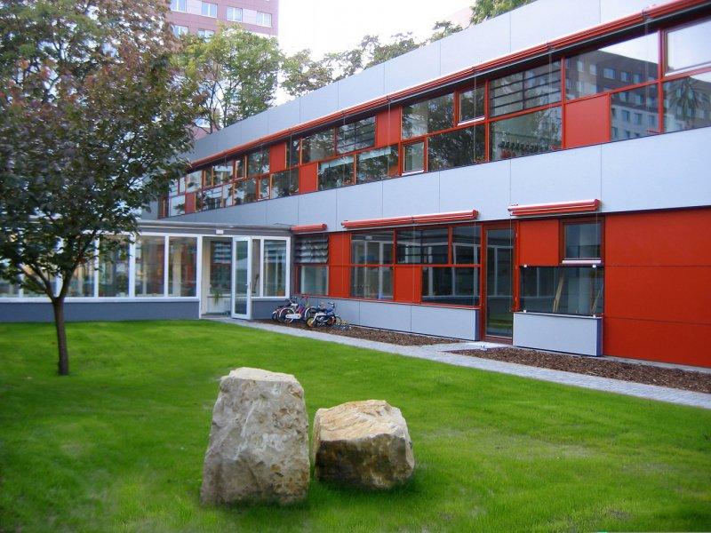 Innenhof, Blaufisch Architekte, M. Renatus