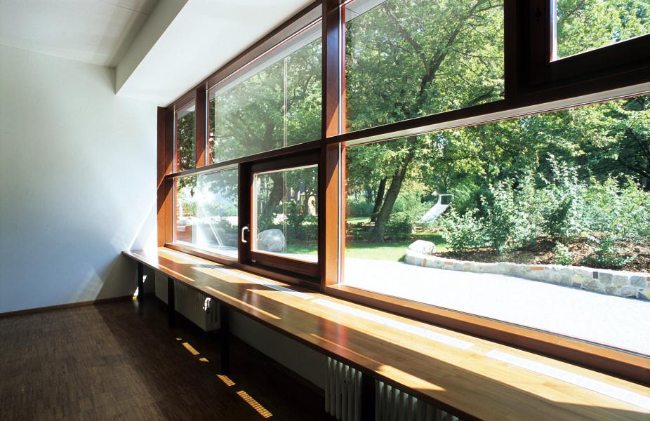 Ausblick Gruppenraum, Blaufisch Architekte, M. Renatus